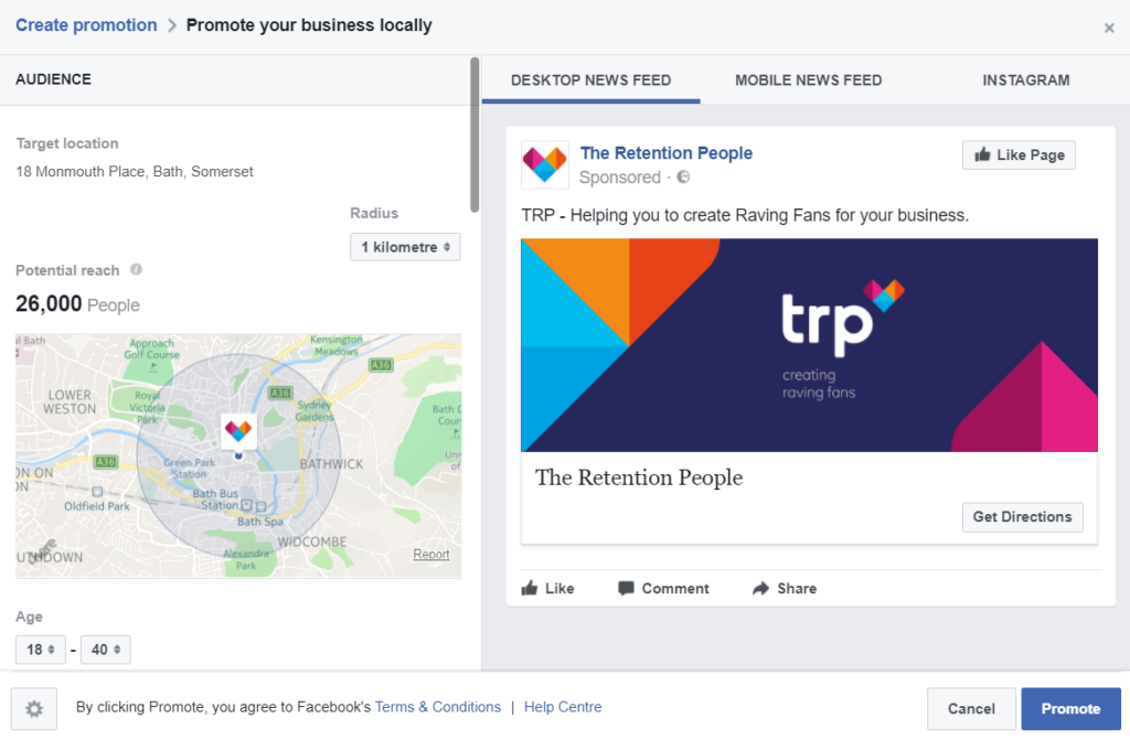 Facebook Ads - Targeting Setup
